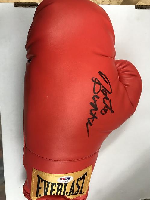 Roberto Duran Autographed Everlast Glove