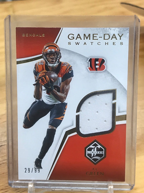 2019 Limited A.J. Green Game-Day Swatches 29/99
