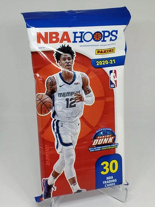 2020-21 NBA Hoops Basketball Hobby Pack