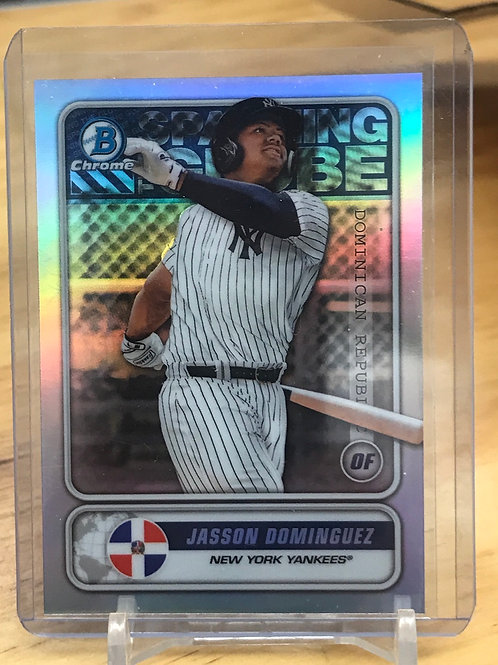 2020 Bowman Jasson Dominguez Spanning The Globe Refractor