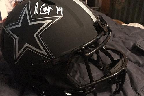 Amari Cooper Dallas Cowboys Authentic Autographed Riddell Eclipse Alte