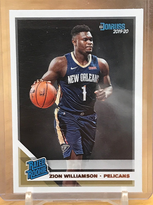 2019-20 Donruss Zion Williamson Rated Rookie