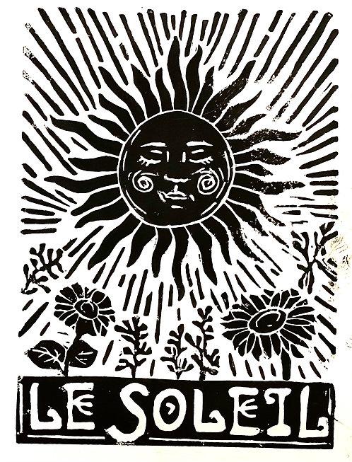 'Le Soleil' Print