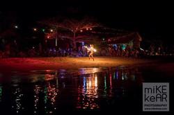 Koh Rong Fire Hoop