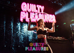 Guilty Pleasures - live hoop show