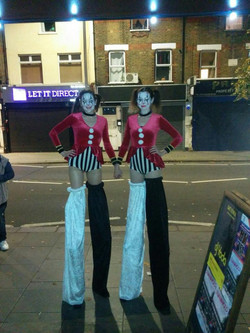 Stilt Walking