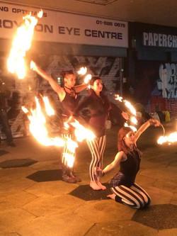 Fire Fans Performance