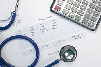 Health care billing statement with steth