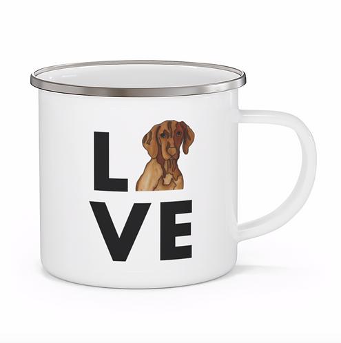 Stole My Heart Vizsla Personalized Enamel Mug