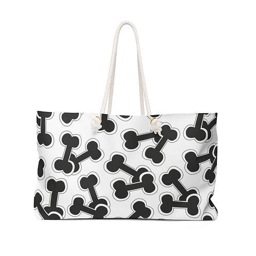 Boney Macaroni B&W Doggie Weekender Bag