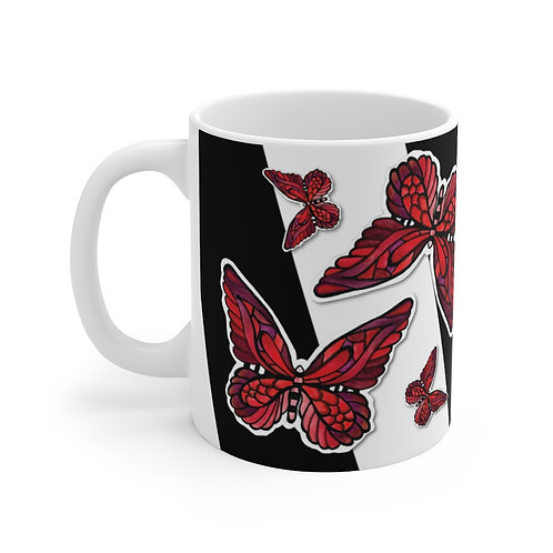 FlutterBy Butterfly Mug