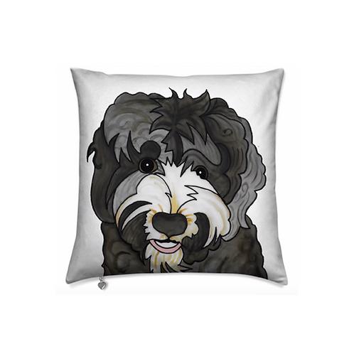 Stole My Heart Australian Labradoodle Velvet Pillow