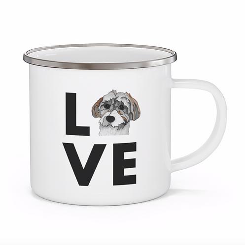 Stole My Heart Havanese Personalized Enamel Mug