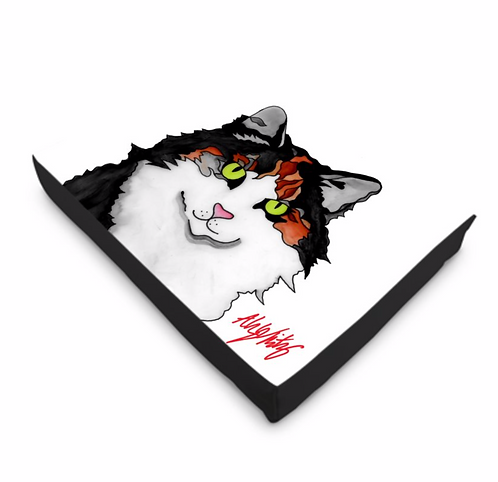 Stole My Heart Calico Cat Bed