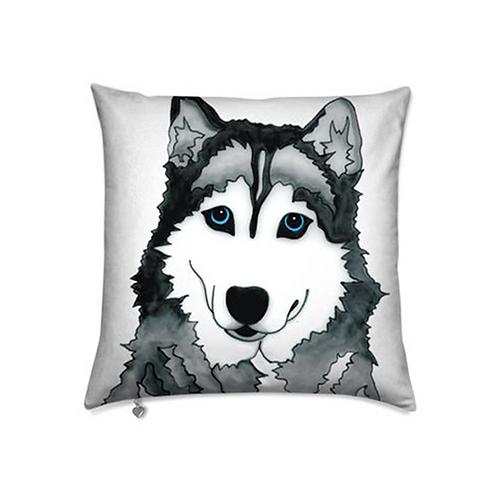 Stole My Heart Husky Velvet Pillow