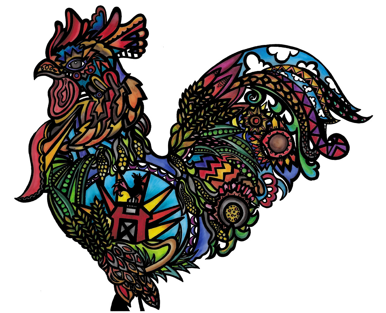 Rooneigh the Rooster