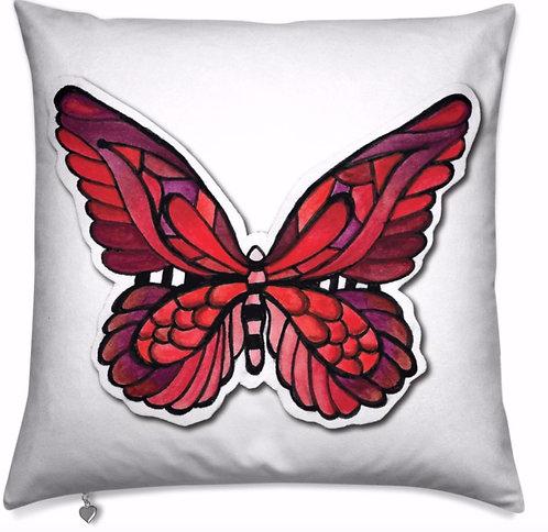 FlutterBy Butterfly Velvet Pillow
