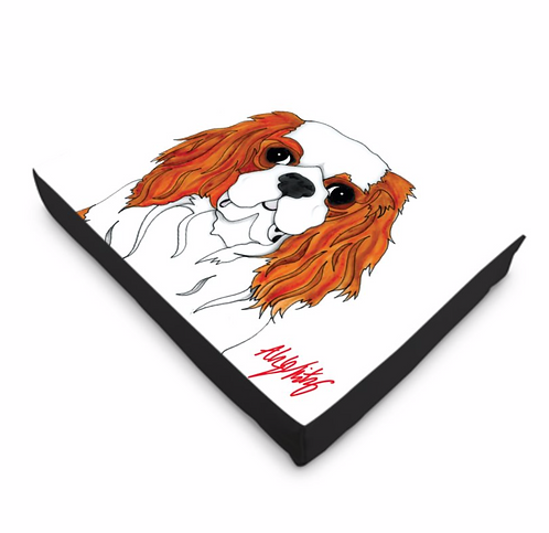Stole My Heart Cavalier King Charles Dog Bed