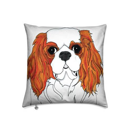 Stole My Heart Cavalier King Charles Spaniel Velvet Pillow