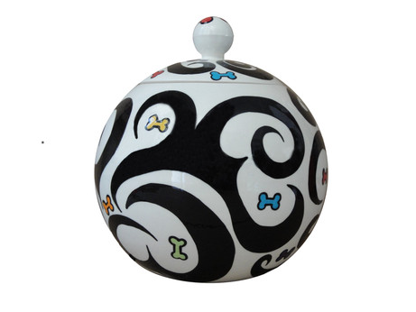 BWWC Treat Jar (Black, White with Color)