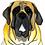 Thumbnail: Stole My Heart English Mastiff Velvet Pillow