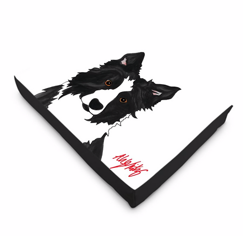 Stole My Heart Border Collie Dog Bed