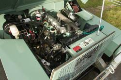 Impressive engine bay