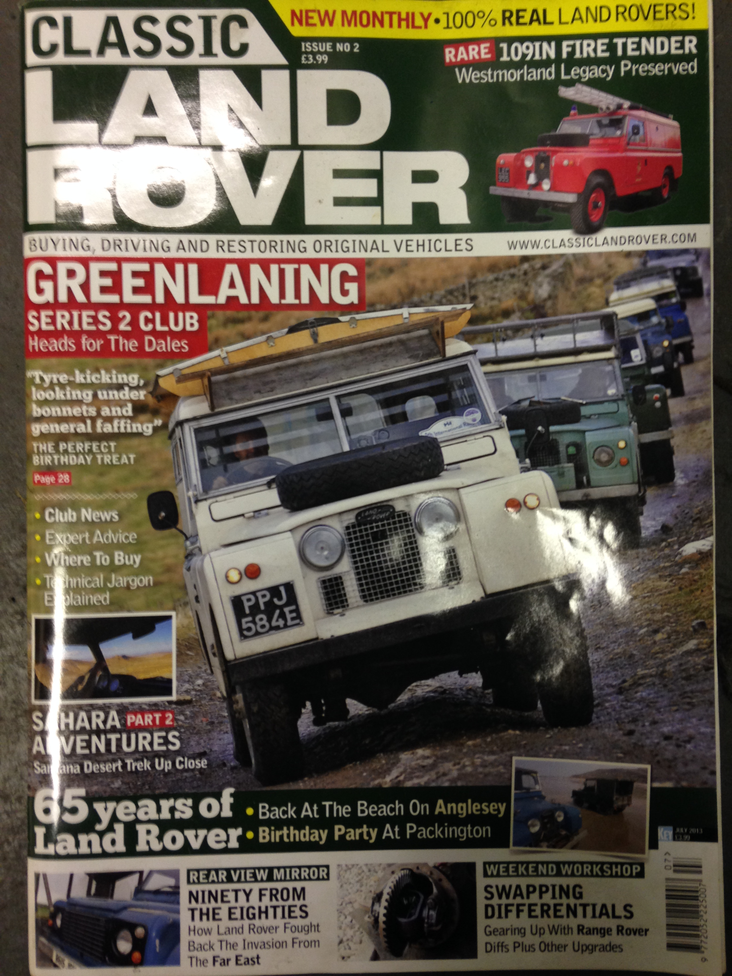 Classic Land Rover feature