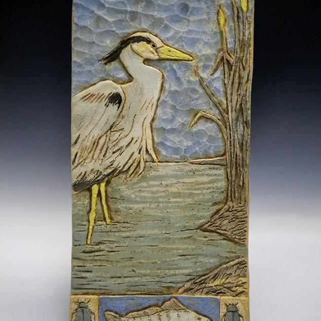 Blue Heron Box