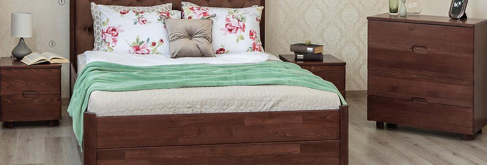 Кровать CHELSEA с ящиками - ОЛИМП