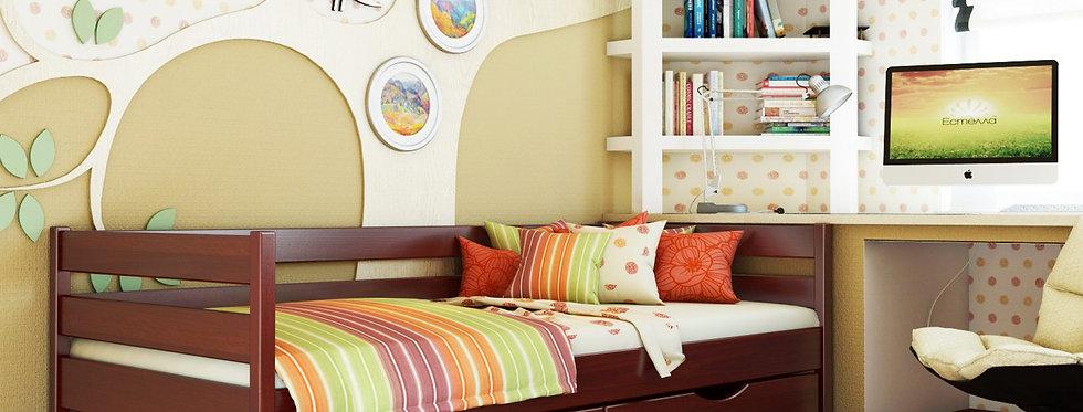 Деревяная кровать Нота Массив