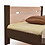 Thumbnail: Кровать Селена Плюс Комби Бук щит Клен