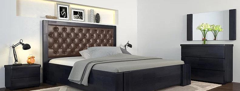 Кровать Амбер без механизма Сосна - Арбор