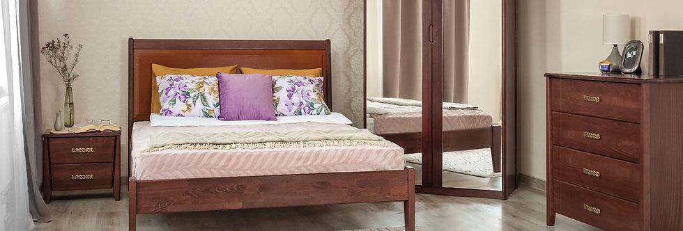 Кровать CITY PREMIUM с филенкой без изножья - ОЛИМП
