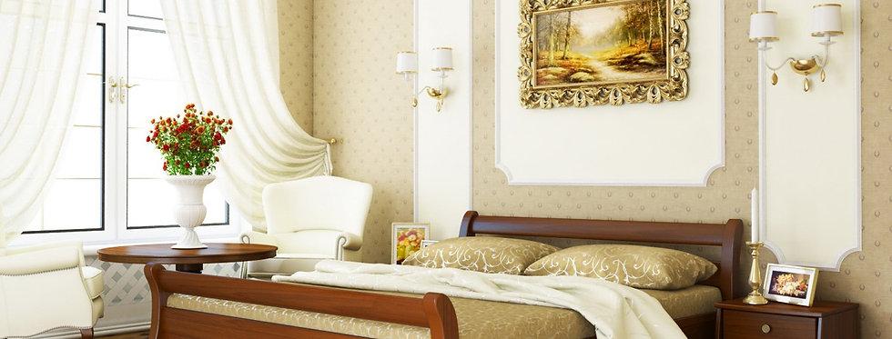 Деревяная кровать Диана Массив