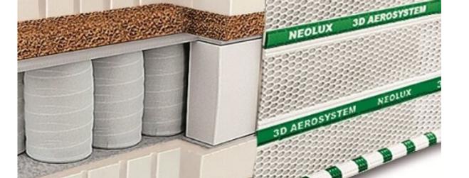 Матрас Neolux Магнат латекс-кокос 3D