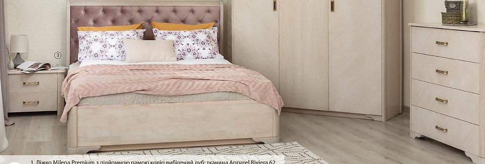 Кровать MILENA PREMUIM с подъёмным механизмом - ОЛИМП