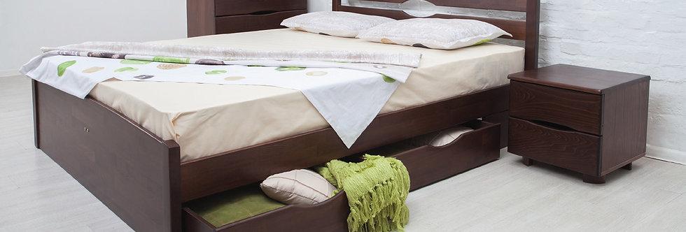 Кровать LIKA LUX с ящиками - ОЛИМП