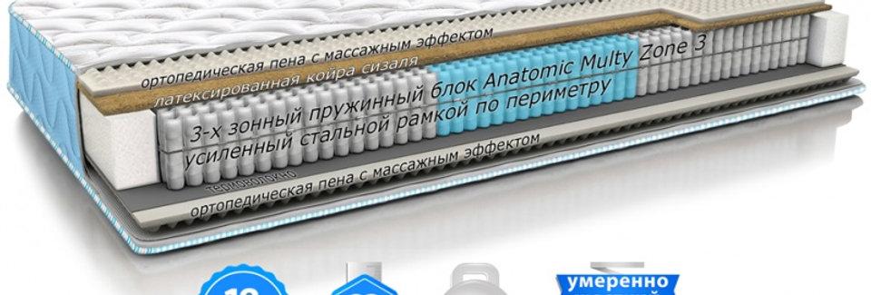 Матрас DAILY 2in1 FITNESS / ДЭЙЛИ 2в1 ФИТНЕС