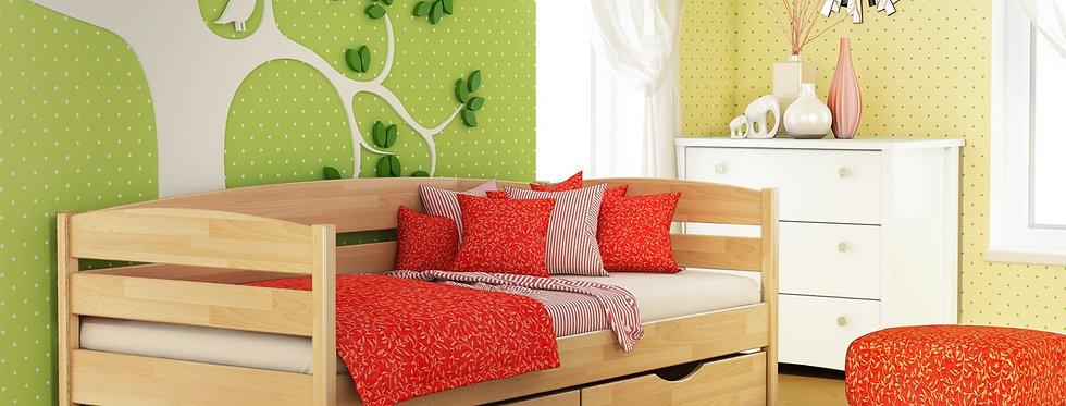 Деревяная кровать Нота Плюс Щит