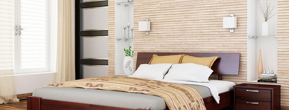 Деревяная кровать Титан Щит