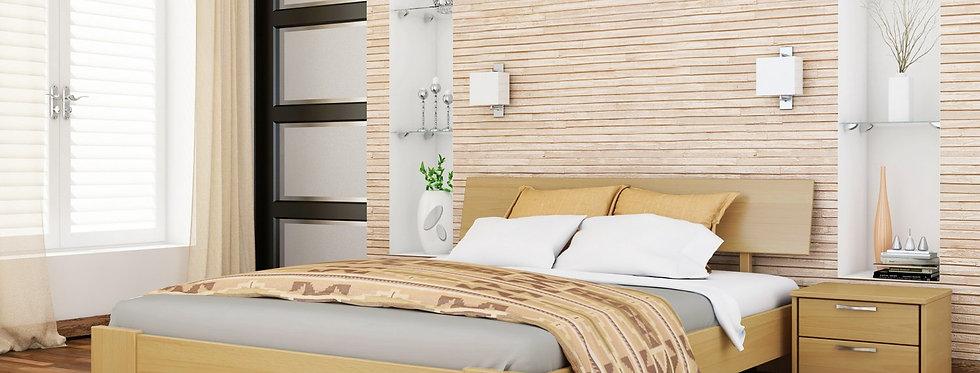 Деревяная кровать Титан Массив