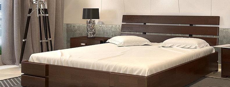 Кровать Дали Люкс без механизма Бук - Арбор