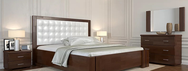 Кровать Амбер без механизма Бук - Арбор