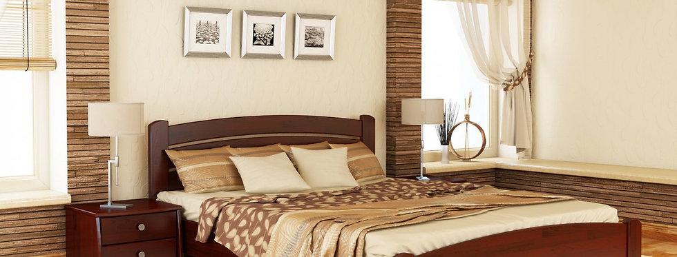 Деревяная кровать Венеция Люкс Щит