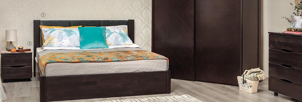 Кровать KATARINA с подъёмным механизмом - ОЛИМП