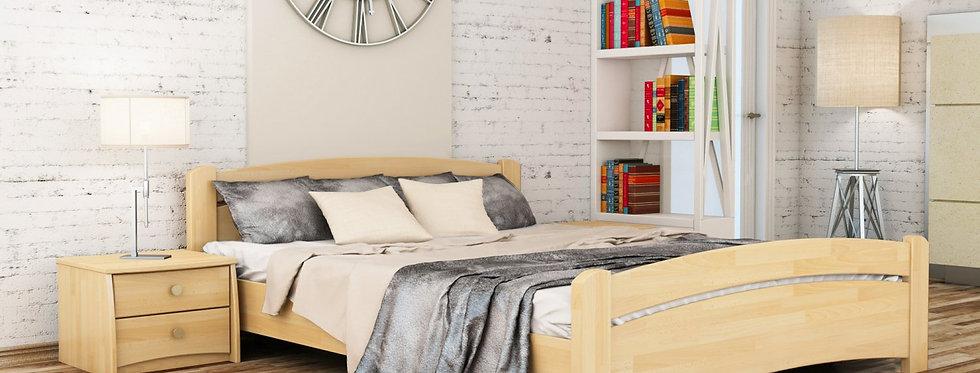 Деревянная кровать Эстелла Венеция Щит