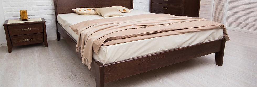 Кровать CITY с филенкой без изножья - ОЛИМП