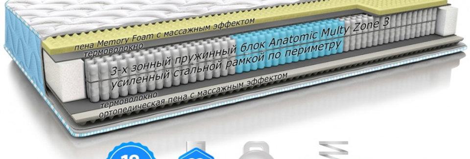 Матрас OPTIMA 2in1 FITNESS / ОПТИМА 2в1 ФИТНЕС