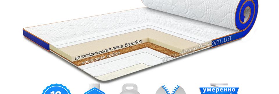 Матрас топпер FLEX 2in1 KOKOS / ФЛЕКС 2в1 КОКОС
